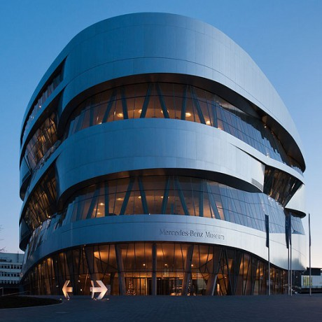 Design & Technology at Mercedes and Porsche Museums, Stuttgart