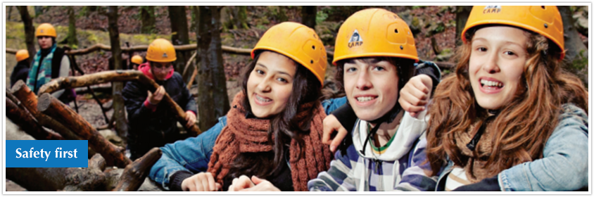 Tours For Groups - Safety First